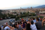 The Crowd at Piazzale Michelangiolo